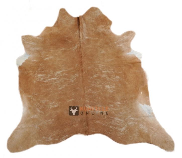 EXOTISCHES KUHFELL BRAUN 200 x 180 cm
