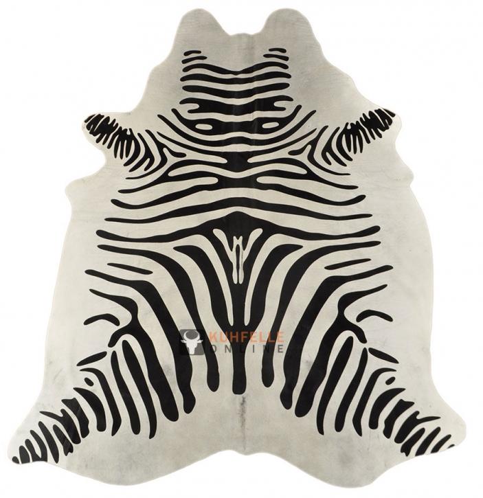 KUHFELL Zebra Print  180 x 190 cm