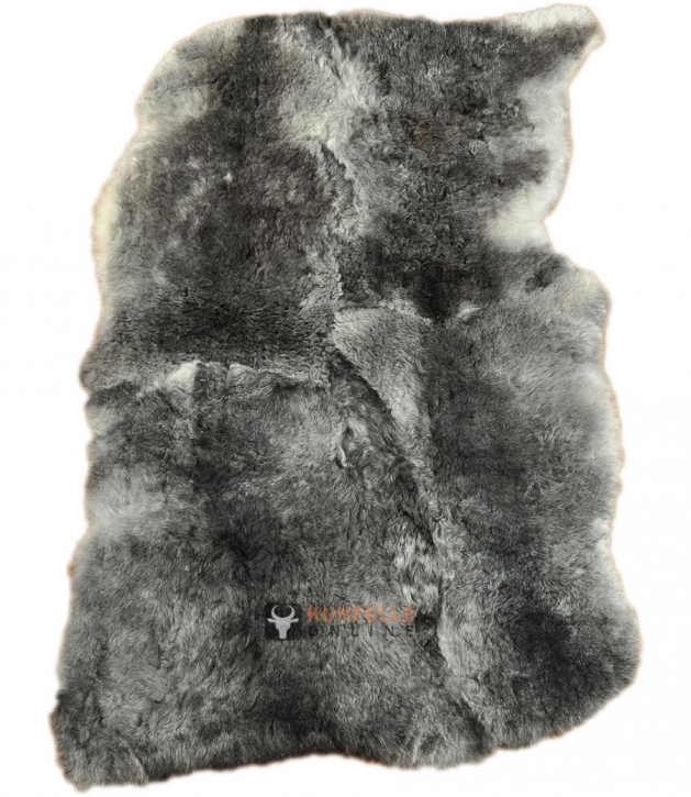 ÖKO LAMMFELL TEPPICH GRAU 120 X 180 CM