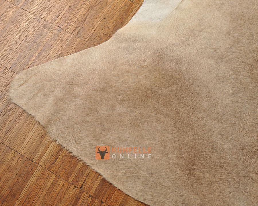 kuhfell teppich beige hellbraun 210 x 170 cm online bestellen. Black Bedroom Furniture Sets. Home Design Ideas