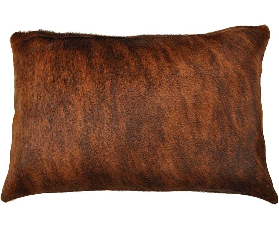 kuhfell kissenbezug braun weiss 40 x 60 cm. Black Bedroom Furniture Sets. Home Design Ideas