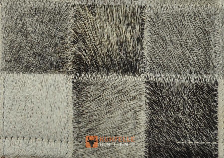 kuhfellteppich grau 150 x 100 cm. Black Bedroom Furniture Sets. Home Design Ideas