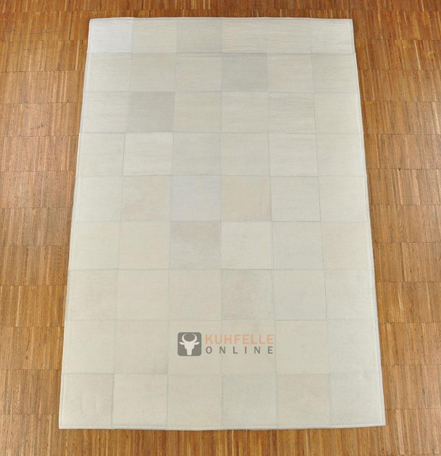 kuhfellteppich patchwork weiss 180 x 120 cm. Black Bedroom Furniture Sets. Home Design Ideas