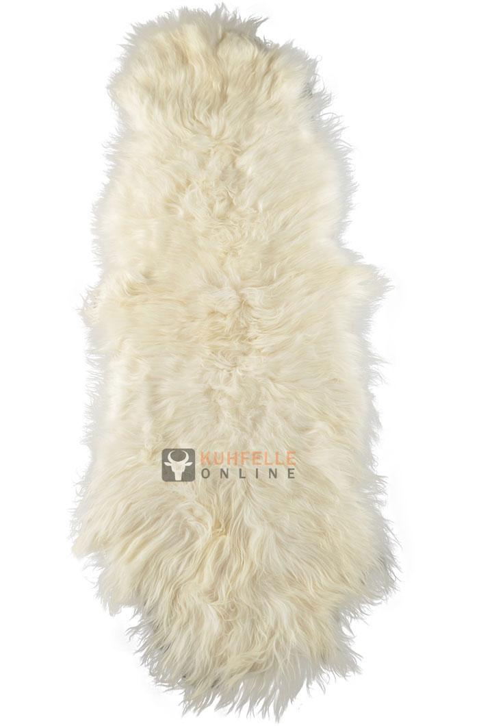 premium lammfell teppich weiss bettvorleger 200 x 70 cm. Black Bedroom Furniture Sets. Home Design Ideas