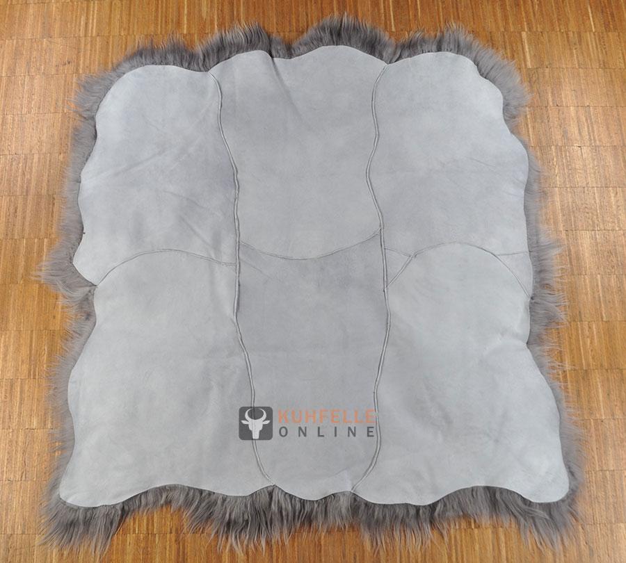 Fell Teppich Grau : premium fellteppich grau gef rbt aus island lammfell 160 x ~ Watch28wear.com Haus und Dekorationen