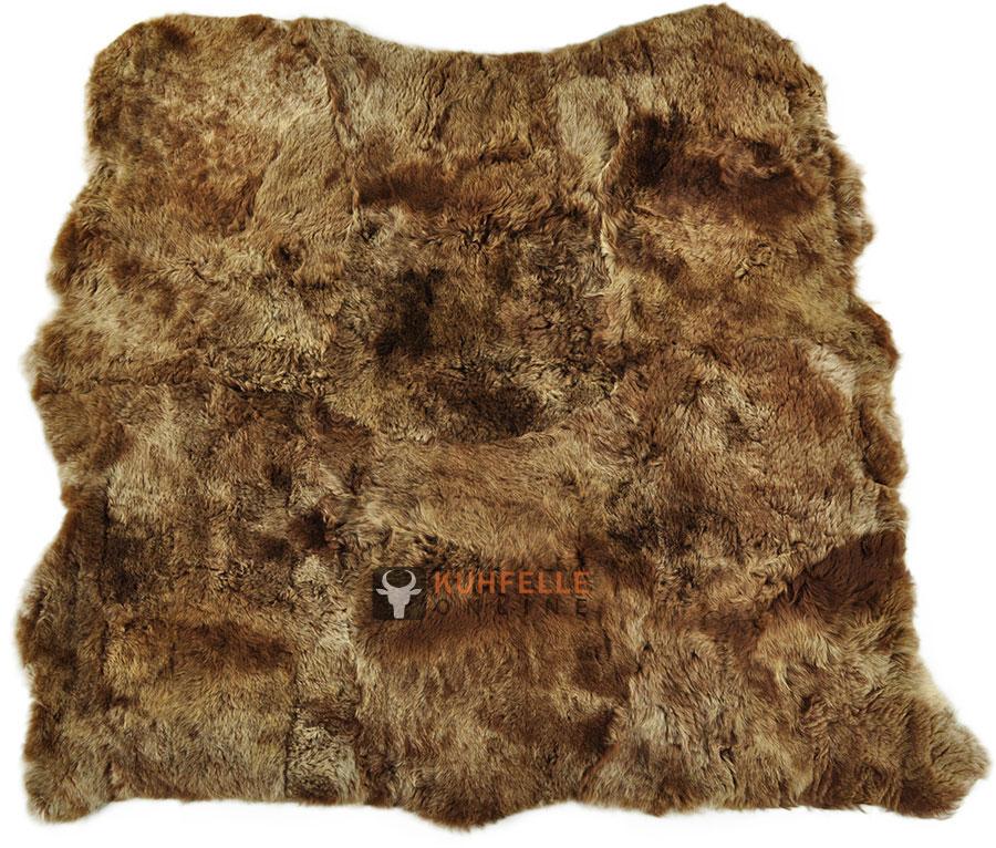 premium fellteppich braun aus island lammfell 150 x 150 cm. Black Bedroom Furniture Sets. Home Design Ideas