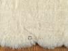 LAMMFELL TEPPICH 185 X 170 CM CREME WEISS