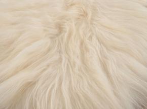 PREMIUM LAMMFELL TEPPICH WEISS BETTVORLEGER 200 x 70 cm