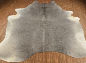 Kuhfell Stierfell grau Natur 220 x 200 cm