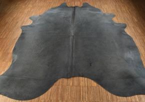 KUHFELL GRAU GEFÄRBT 210 x 180 cm
