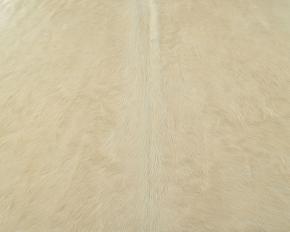 PREMIUM KUHFELL STIERFELL WEISS NATUR 210 x 200 cm